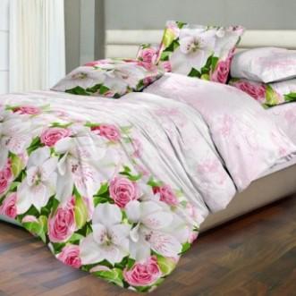 постельное белье Сакура нежность Евро бязь Чебоксарский текстиль