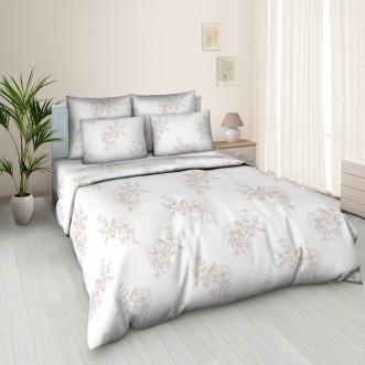 постельное белье Танец Цветов Евро бязь Чебоксарский текстиль