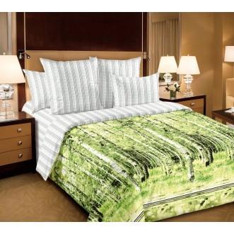постельное белье Березы семейное бязь Чебоксарский текстиль