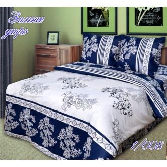 постельное белье Зимнее утро семейное бязь Чебоксарский текстиль