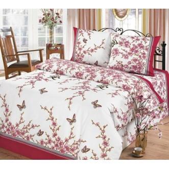 постельное белье Сакура семейное бязь Чебоксарский текстиль