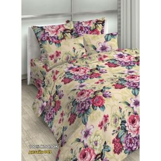 постельное белье Цветочный сад семейное бязь Чебоксарский текстиль