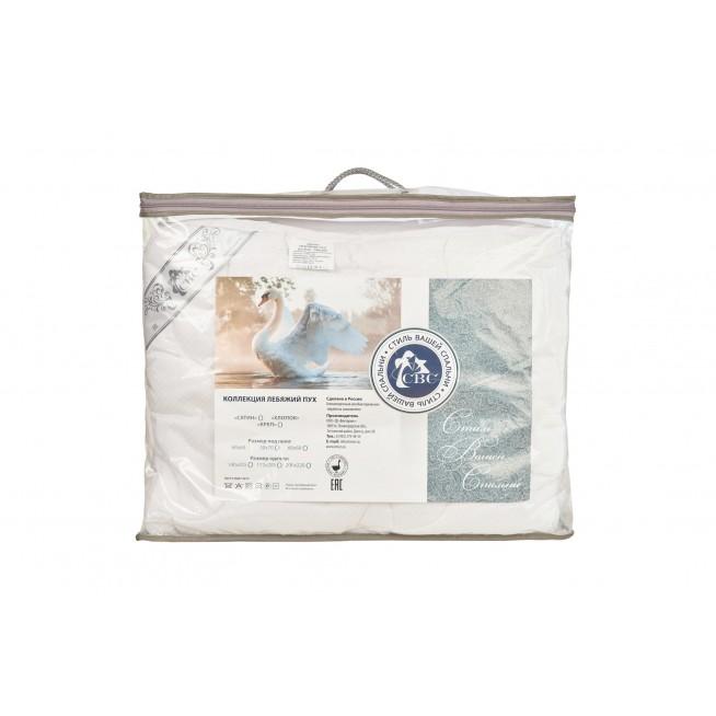 Одеяло Лебяжий пух тик евро 200х220 СВС упаковка