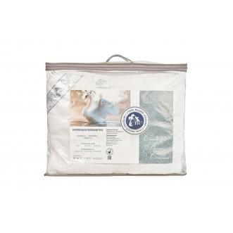 Одеяло Лебяжий пух тик 1,5-спальное 140х205 СВС упаковка