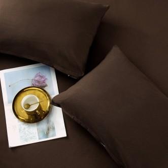 Белье постельное однотонный сатин CS029 евро СИТРЕЙД