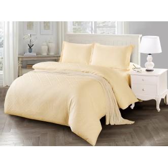 Купить постельное белье жаккард TJ03-10 евро Tango