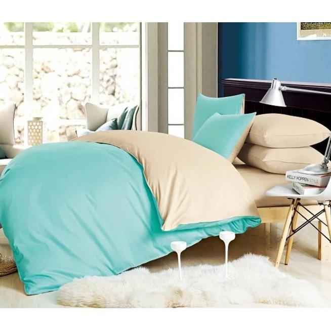 Купить постельное белье Однотонное простынь на резинке JT173 евро Tango