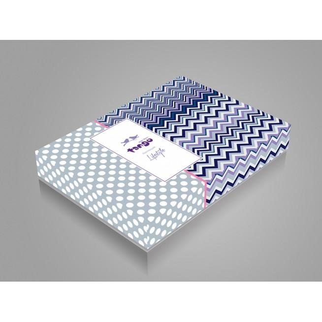 Постельное белье Однотонное простынь на резинке JT02 евро Tango