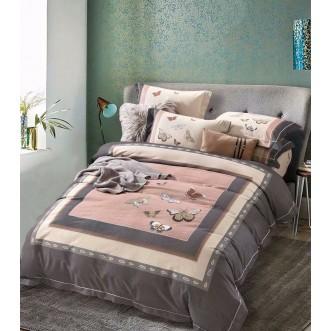 Купить постельное белье фланель MOMAE14 евро Tango