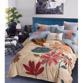 Купить постельное белье фланель MOMAE26 евро Tango