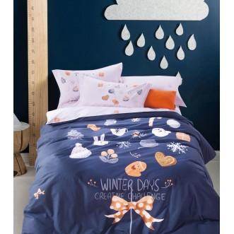 Купить постельное белье фланель MOMAE43 евро Tango