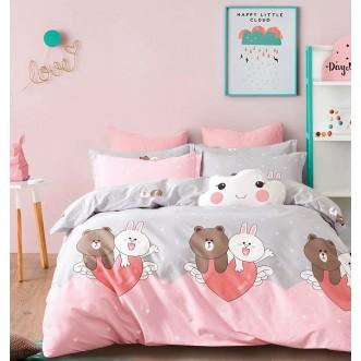 Купить постельное белье твил TPIG4-235 1/5 спальное Tango