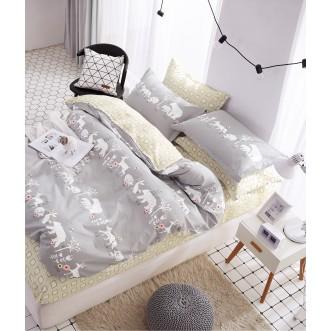 Купить постельное белье твил TPIG4-237 1/5 спальное Tango
