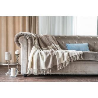 Плед Luxury Merino Латте 140х205 Paters
