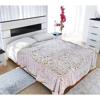 Плед Bicolor 200х220 Фланель 3008-67 Tango