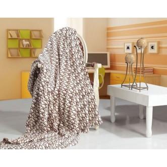 Плед Dior 200х220 микрофибра 3001-30 Tango