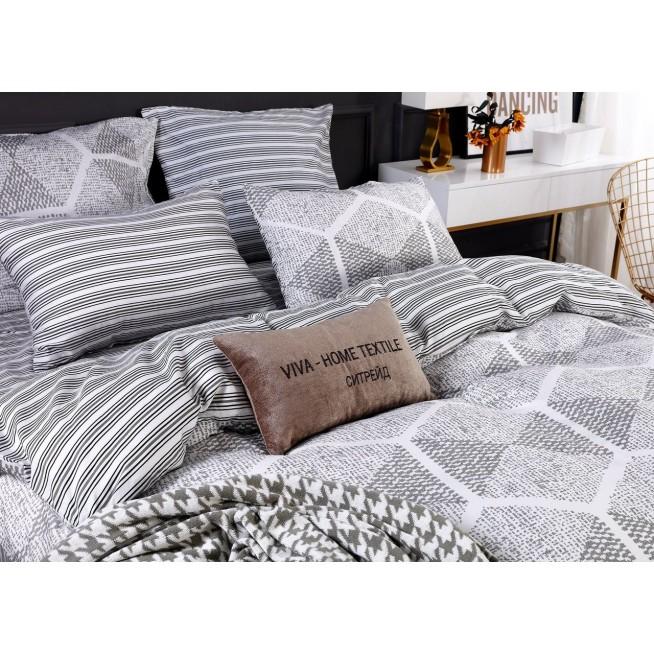 Белье постельное сатин Делюкс L156 2 спальное СИТРЕЙД