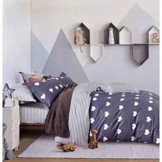 Купить постельное белье твил TPIG4-183 1/5 спальное Tango