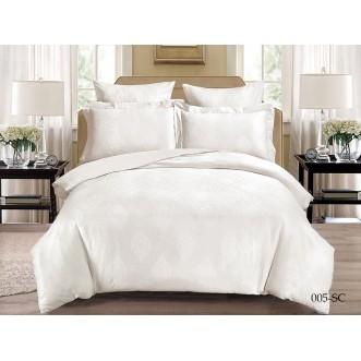 Постельное белье Soft Cotton жаккард лен 2 спальное 21/005-SC Cleo