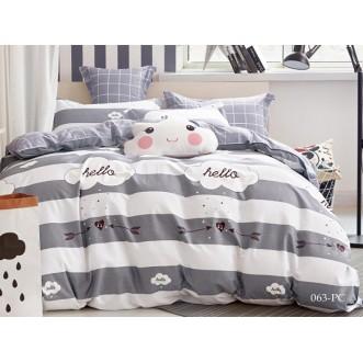 Постельное белье Pure Cotton поплин семейное 41/063-PC Cleo