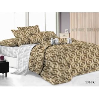 Постельное белье Pure Cotton поплин 2 спальное 101-PC Cleo