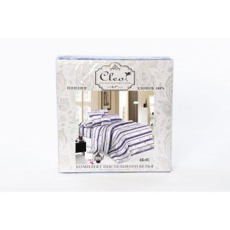Постельное белье Pure Cotton поплин 2 спальное 096-PC Cleo упаковка