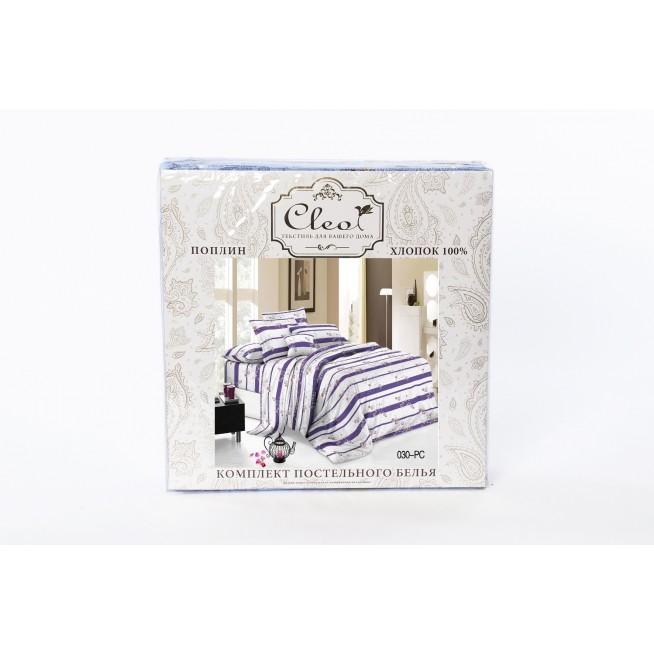 Постельное белье Pure Cotton поплин 2 спальное 082-PC Cleo упаковка