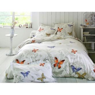 Постельное белье Satin Lux Бабочки семейное 445-SL Cleo
