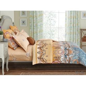 Постельное белье Satin Lux Арабеска евро 321-SL Cleo