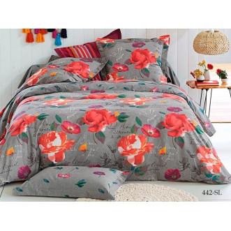 Постельное белье Satin Lux Кристел 2 спальное 442-SL Cleo