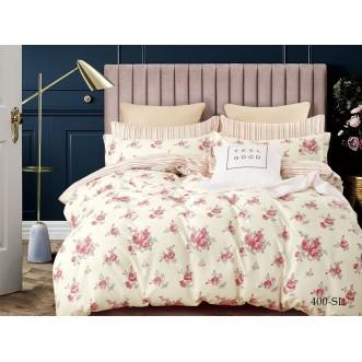 Постельное белье Satin Lux Розолина 2 спальное 400-SL Cleo