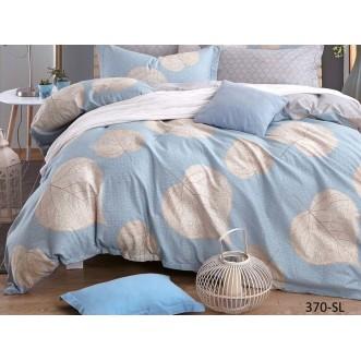 Постельное белье Satin Lux Осиновый лист 2 спальное 370-SL Cleo