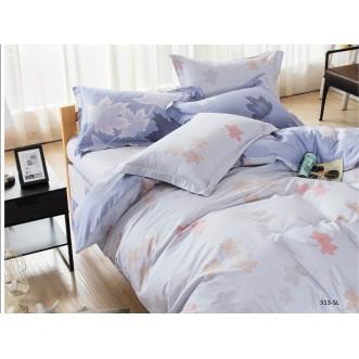 Постельное белье Satin Lux Кленовый лист 2 спальное 313-SL Cleo