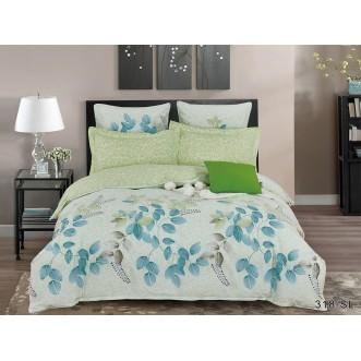 Постельное белье Satin Lux Дафна 1/5-спальное 318-SL Cleo