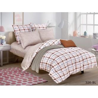 Постельное белье Satin Lux Минаур 1/5-спальное 326-SL Cleo