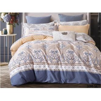Постельное белье Satin Lux Калитри 1/5-спальное 334-SL Cleo
