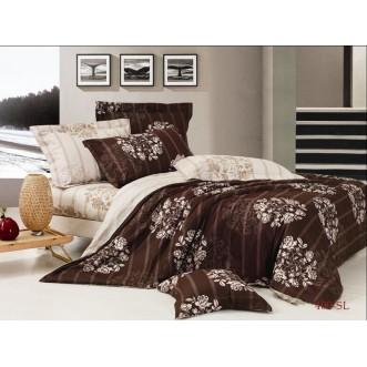 Постельное белье Satin Lux Мирано 1/5-спальное 409-SL Cleo