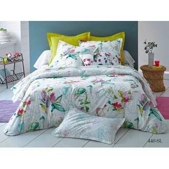 Постельное белье Satin Lux Эмелин 1/5-спальное 440-SL Cleo