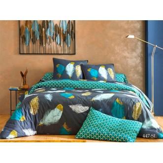 Постельное белье Satin Lux Воздушный 1/5-спальное 447-SL Cleo
