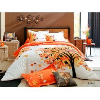 Постельное белье Satin Lux Осень 1/5-спальное 448-SL Cleo