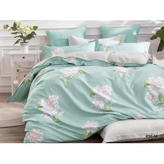 Постельное белье Satin de Lux Аромат весны 1/5-спальное 498-SK Cleo