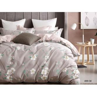 Постельное белье Satin de Lux Марчелла 1/5-спальное 499-SK Cleo