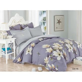 Постельное белье Satin de Lux Яблоневый цвет 1/5-спальное 446-SK Cleo