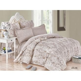 Постельное белье Satin de Lux Винадио 1/5-спальное 471-SK Cleo