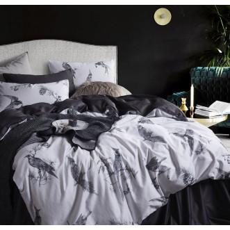 Белье постельное Премиум мако-сатин CPA013 евро 200х220 СИТРЕЙД