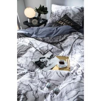 Белье постельное Премиум мако-сатин CPA015 евро 200х220 СИТРЕЙД