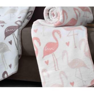 Плед Cotton Фламинго 150х200 Paters