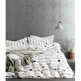 Купить постельное белье твил TPIG5-741 семейный дуэт Tango