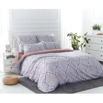 Постельное белье сатин вышивка  CN018 2 спальное СИТРЕЙД