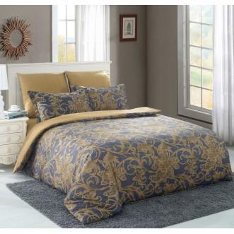 Постельное белье сатин вышивка  CN019 2 спальное СИТРЕЙД